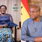 Mahama unveils running mate today; Prof Naana Opoku-Agyemang, Nii Moi Thompson in pole position