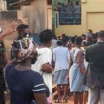 Students of Accra Girls SHS Protest After Mates Test Positive For Coronavirus