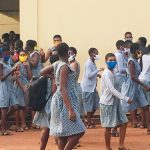 Parents troop to Accra Girls SHS to withdraw wards after 6 students tested positive for Covid-19